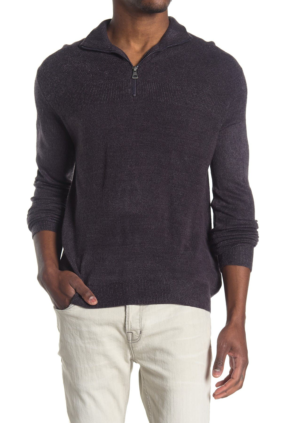 Image of weatherproof Soft Touch 1/4 Zip Sweater