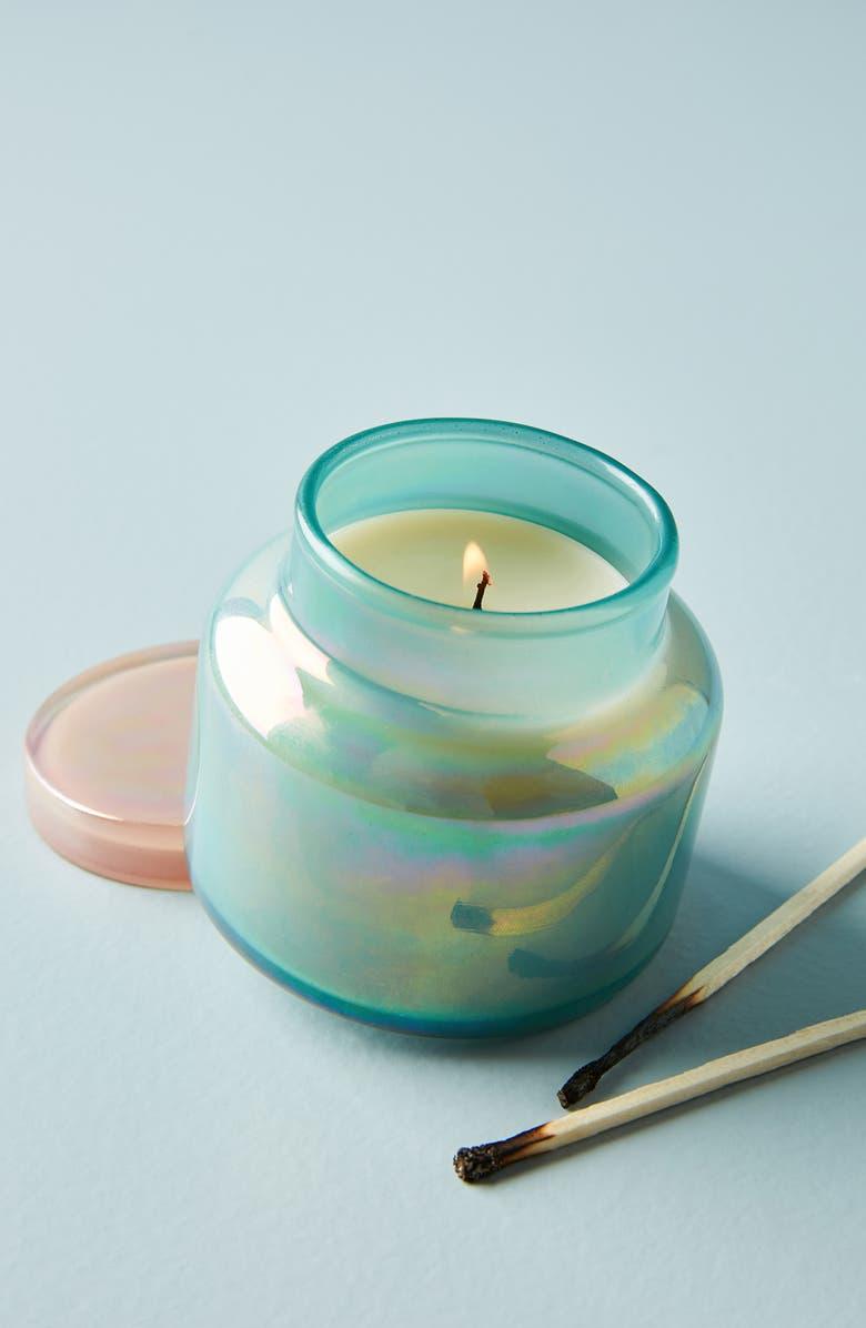 ANTHROPOLOGIE HOME Capri Blue Mini Iridescent Jar Candle, Main, color, 300