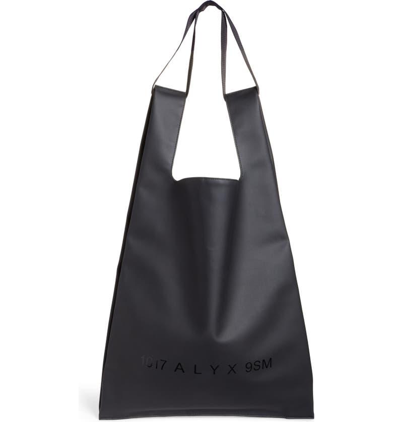 1017 ALYX 9SM Shopping Bag, Main, color, BLACK