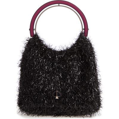 Kate Spade New York Betty Tinsel Top Handle Bag - Black