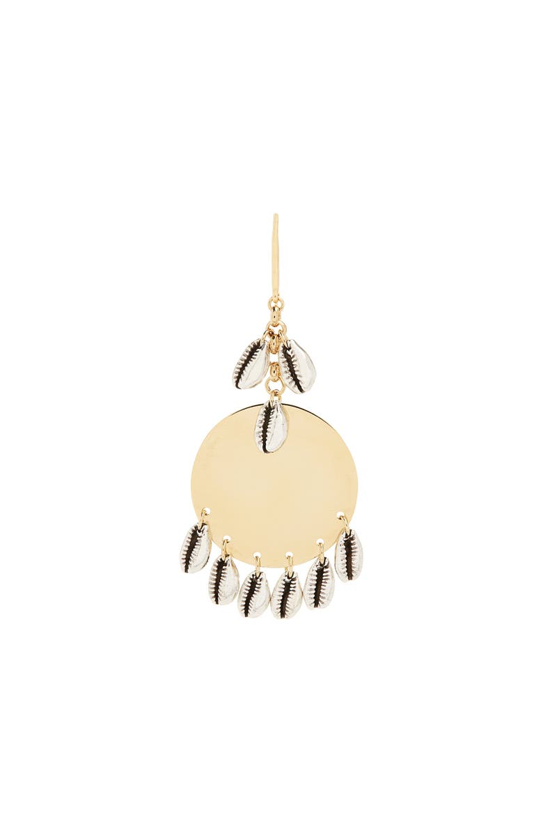 ISABEL MARANT Amer Boucle Oreille Drop Earrings, Main, color, SILVER
