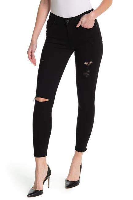 Image of 7 For All Mankind Gwenevere Ankle Cut Skinny Jeans