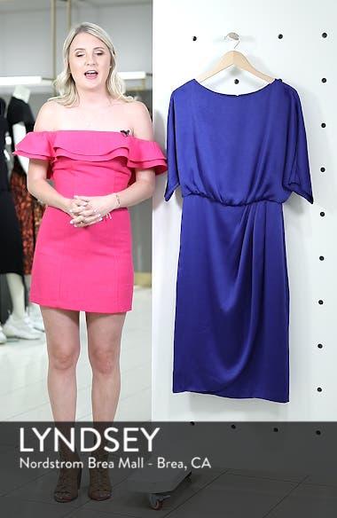 Draped Blouson Dress, sales video thumbnail