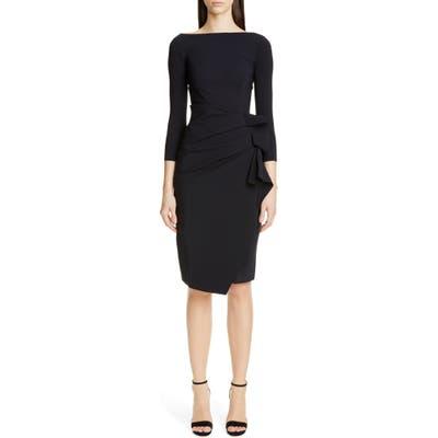 Chiara Boni La Petite Robe Zelma Cocktail Dress, US / 42 IT - Black