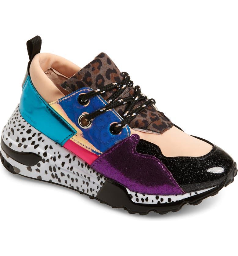 STEVE MADDEN JCliff Sneaker, Main, color, RAINBOW MULTI