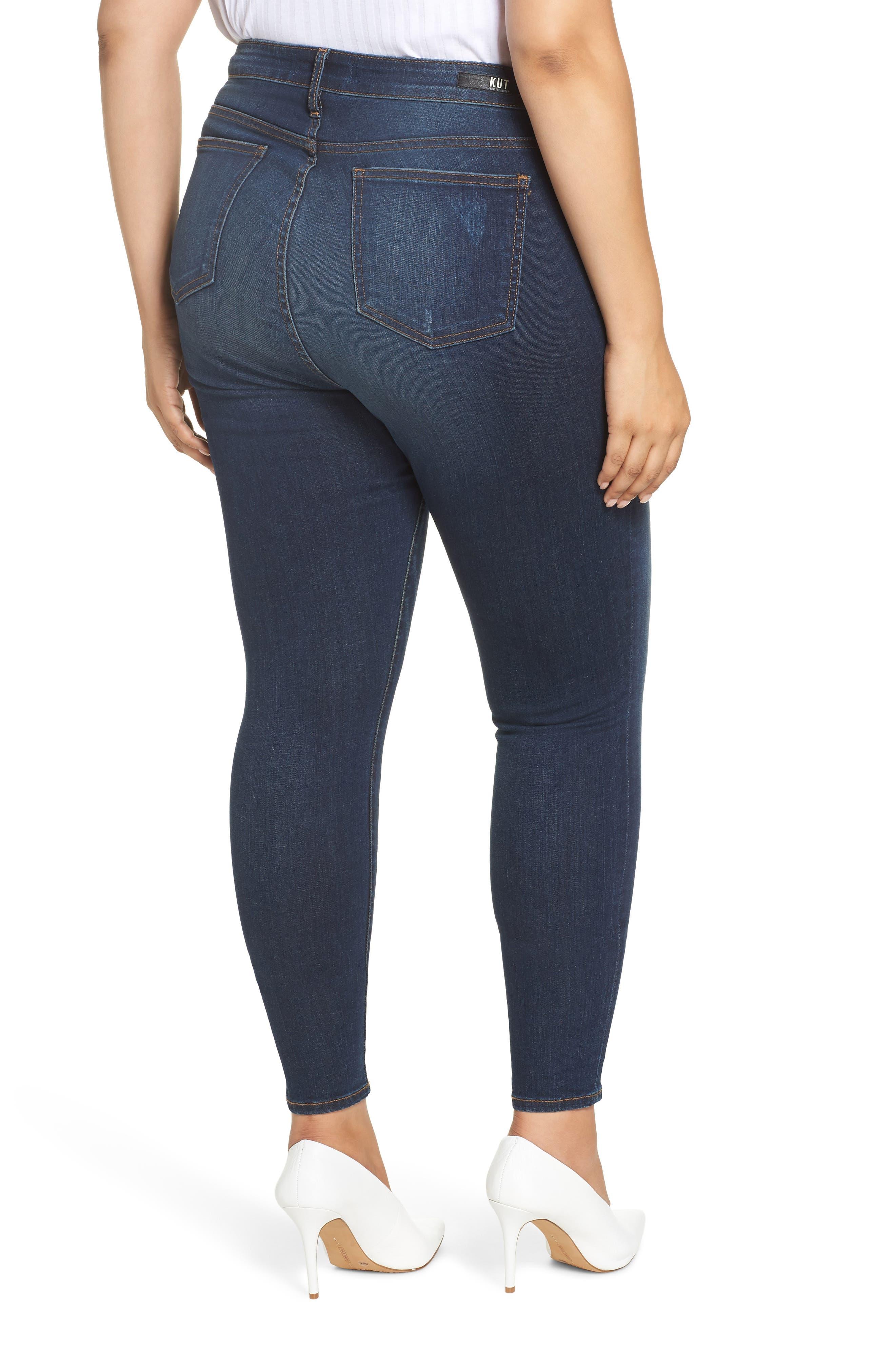 ,                             Mia High Waist Skinny Jeans,                             Alternate thumbnail 2, color,                             432
