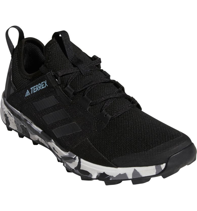 ADIDAS Terrex Agravic Speed Plus Trail Running Shoe, Main, color, BLACK/ NON-DYED/ ASH GREY