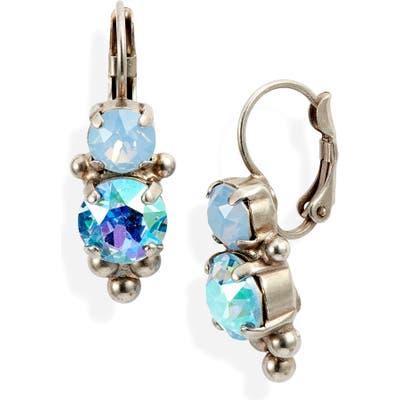 Sorrelli Pastel Prep Crystal Rounds Drop Earrings