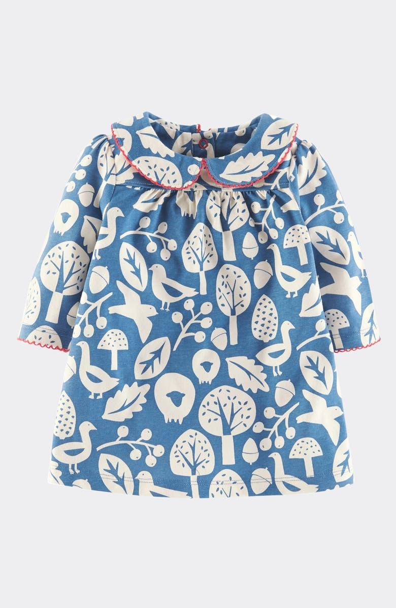 e583dc1bac6d Mini Boden 'Pretty' Peter Pan Collar Dress (Baby Girls)   Nordstrom