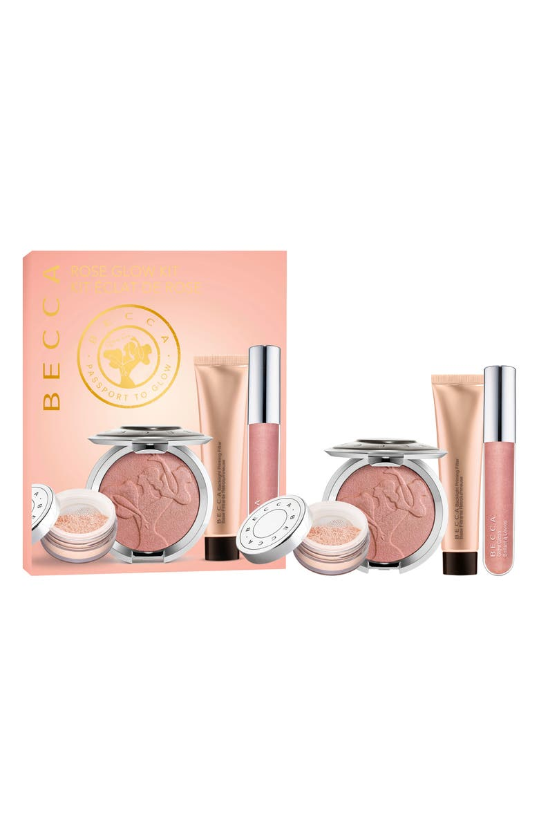 BECCA COSMETICS BECCA Rose Glow Kit, Main, color, NO COLOR