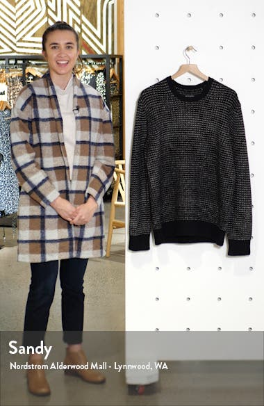 Larkk Wool Blend Crewneck Sweater, sales video thumbnail
