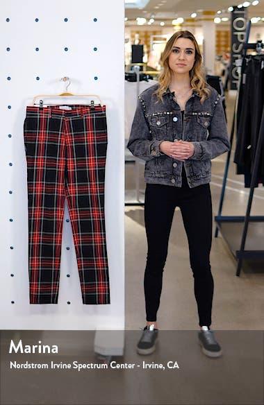 Tartan Stretch Skinny Fit Pants, sales video thumbnail