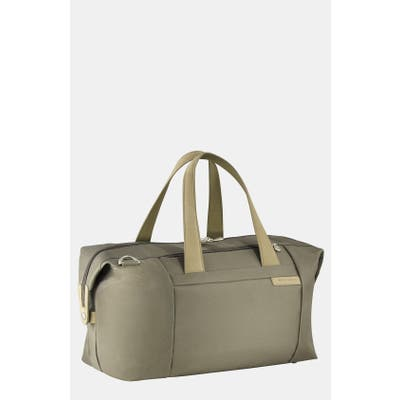 Briggs & Riley Baseline Duffle Bag - Green