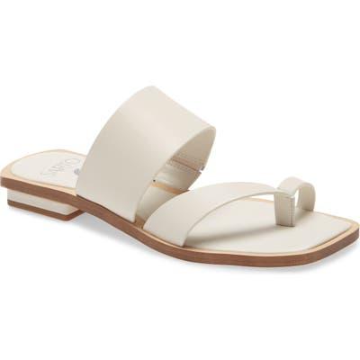 Sarto By Franco Sarto Ediana Slide Sandal, White