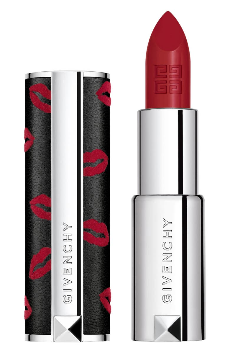 GIVENCHY Valentine's Day Le Rouge Interdit Lipstick, Main, color, 000