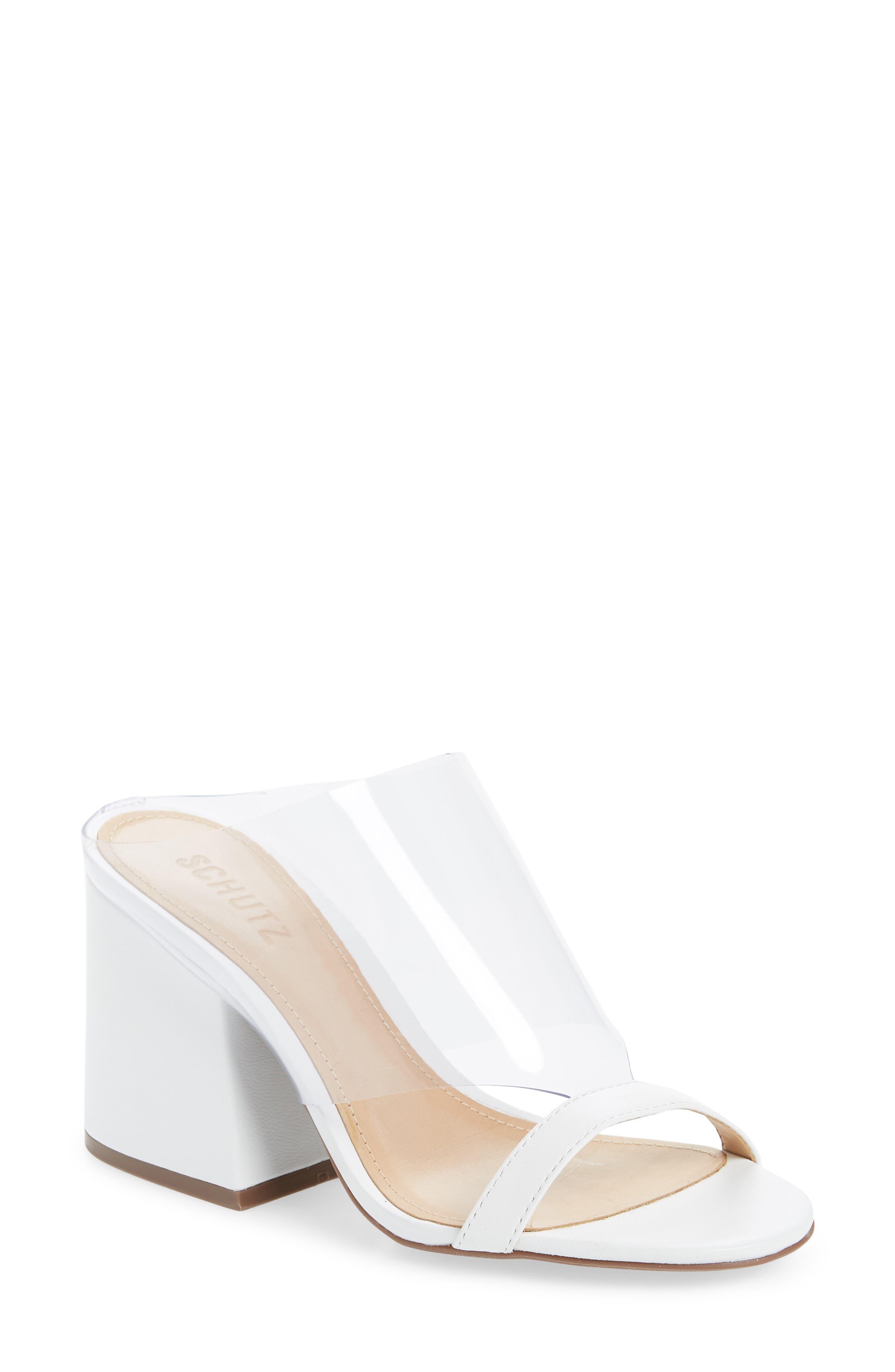 Schutz Raira Sandal, White