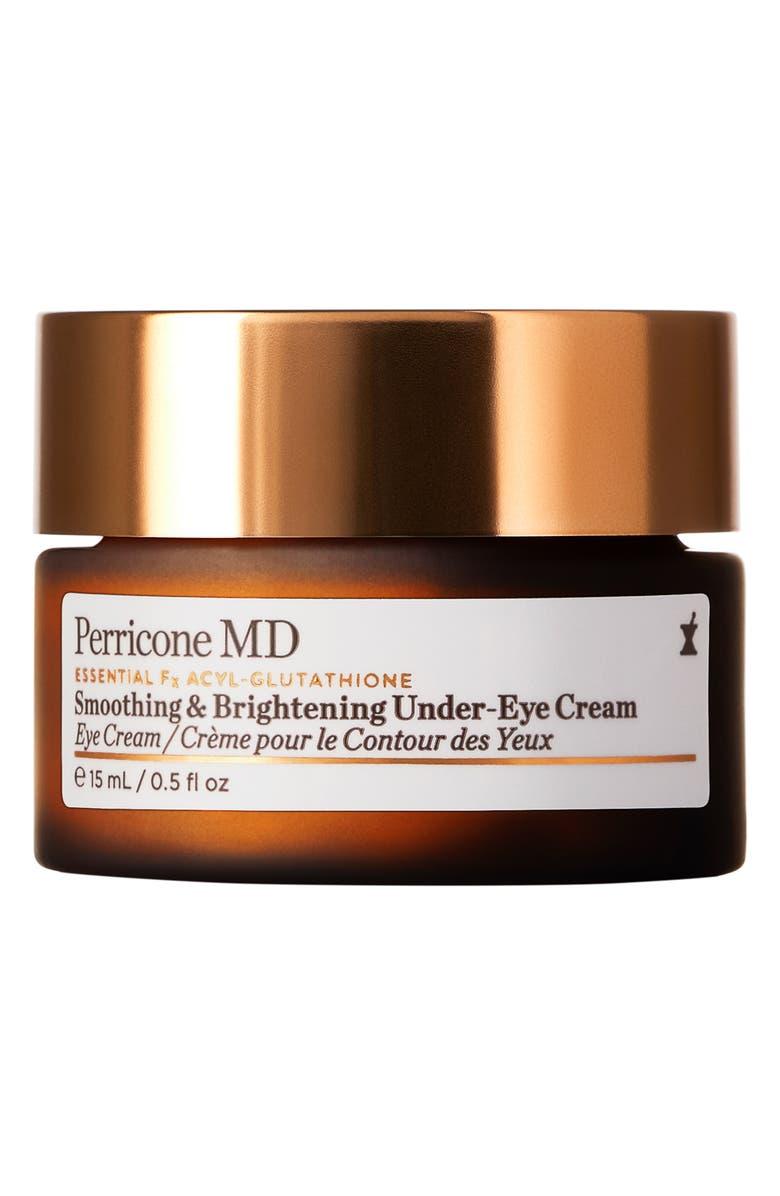 PERRICONE MD Essential Fx Acyl-Glutathione Smoothing & Brightening Under-Eye Cream, Main, color, 000