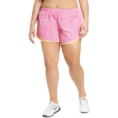 Plus Size Nike Dry Icon Clash Tempo Running Shorts
