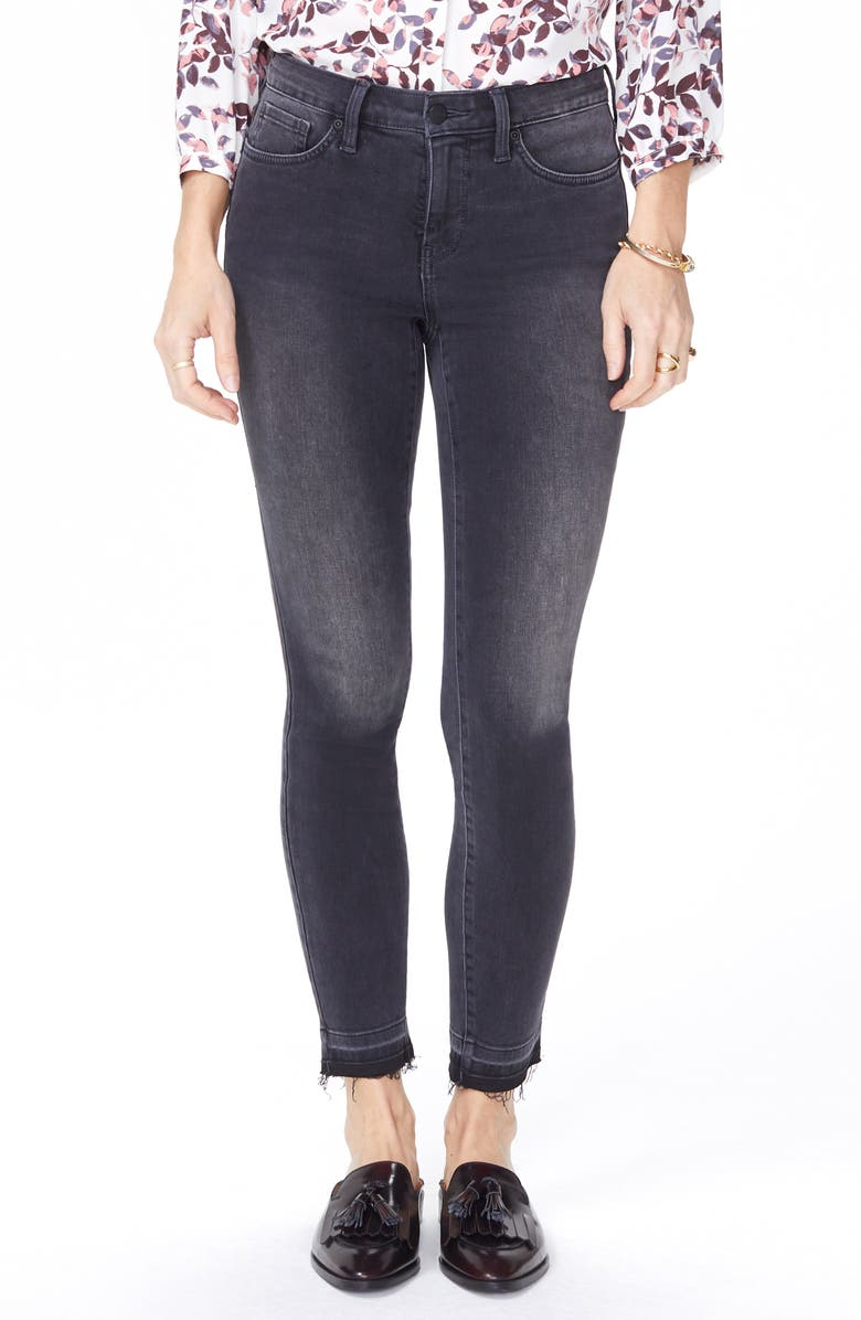 NYDJ Ami Release Hem Ankle Jeans, Main, color, OLYMPIC