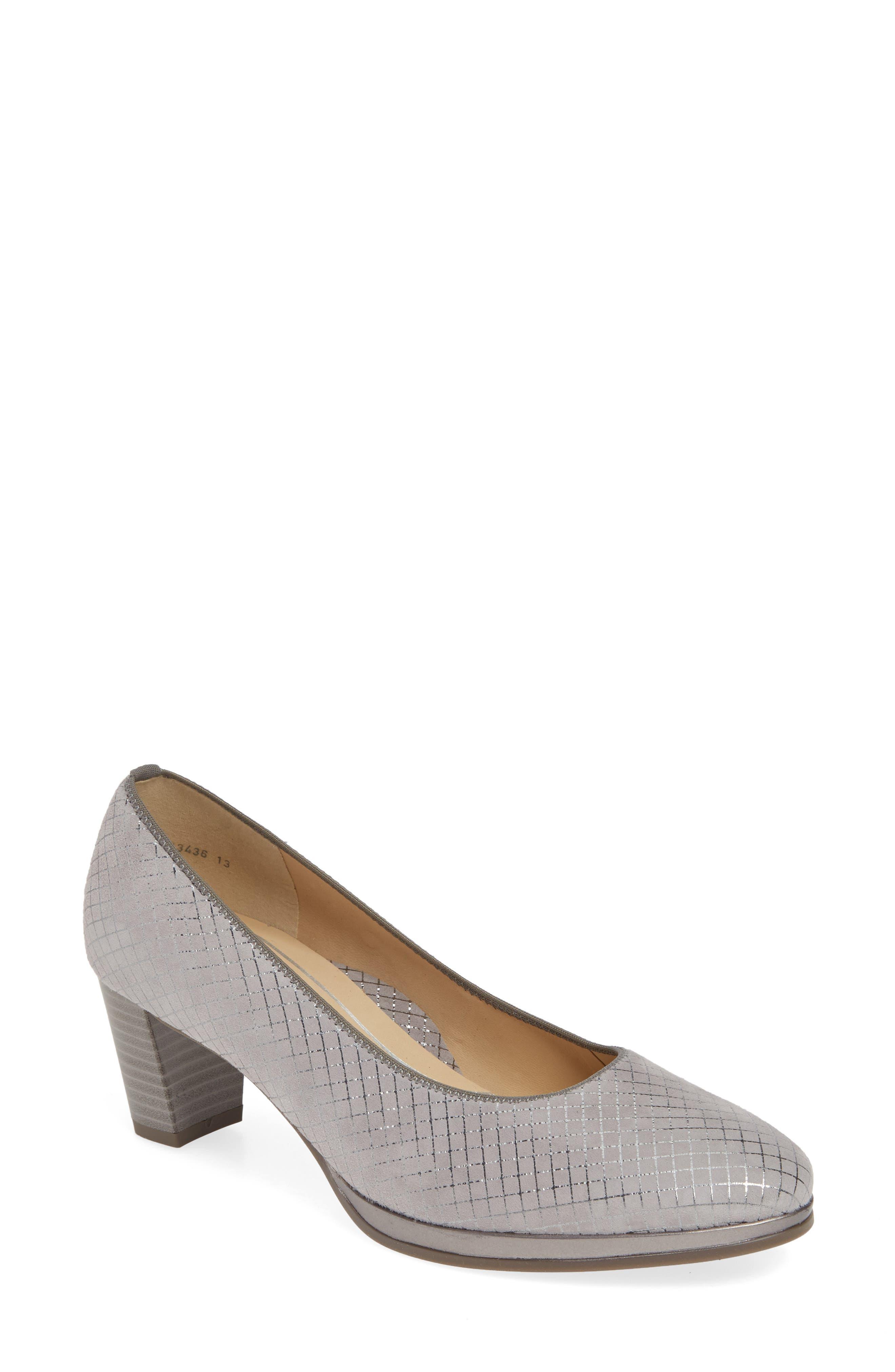 Ara Ophelia Pump- Grey