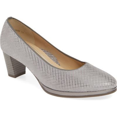 Ara Ophelia Pump- Grey