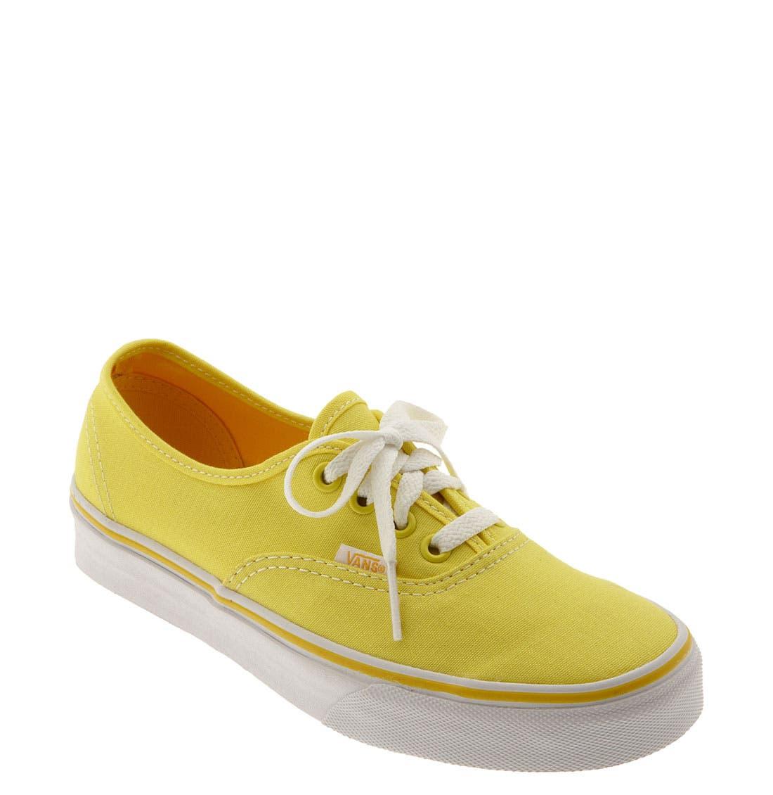 ,                             'Authentic' Sneaker,                             Main thumbnail 700, color,                             702