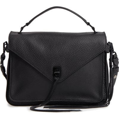 Rebecca Minkoff Darren Leather Messenger Bag - Black