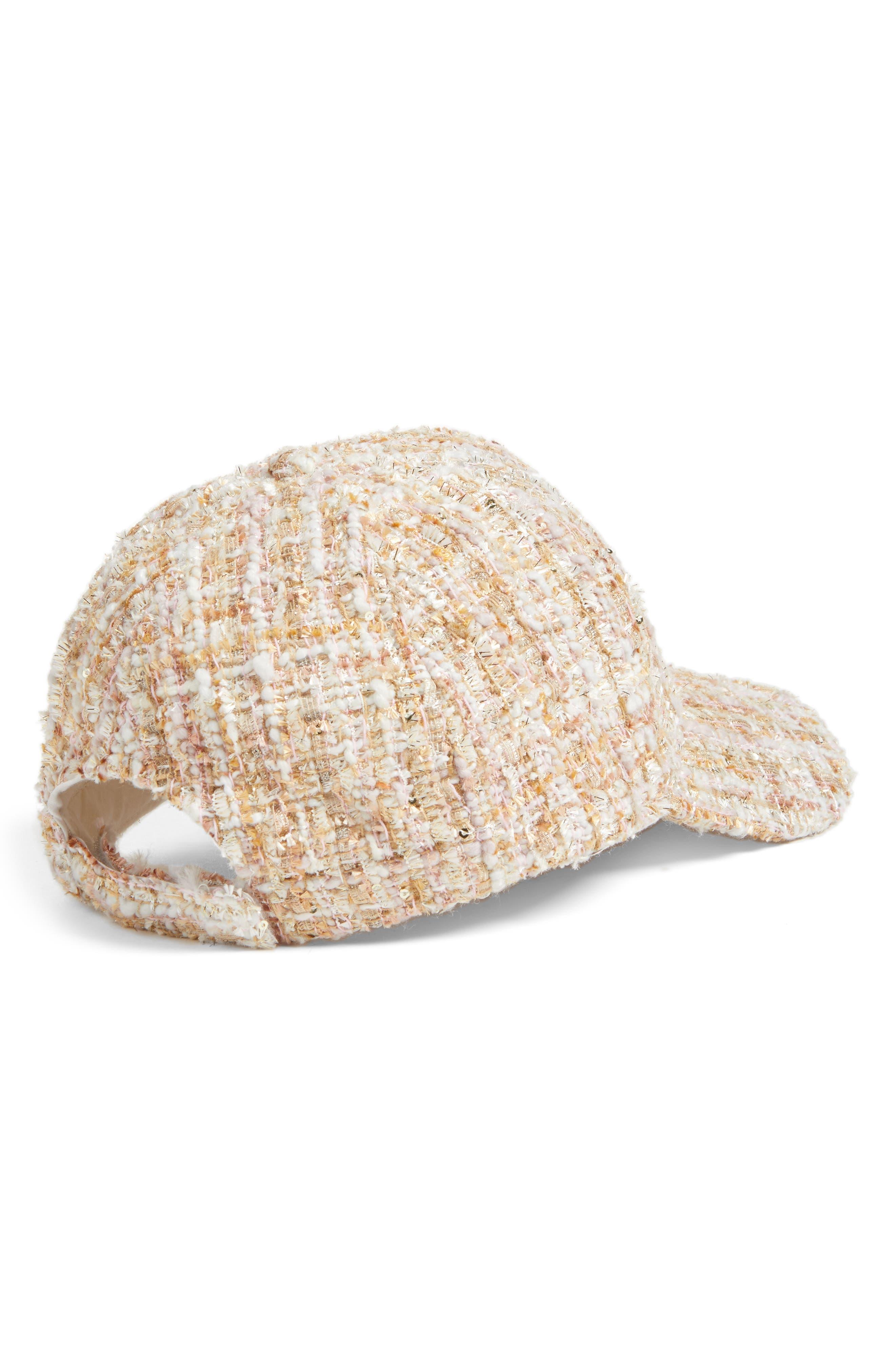 ,                             Tweed Baseball Cap,                             Alternate thumbnail 2, color,                             650