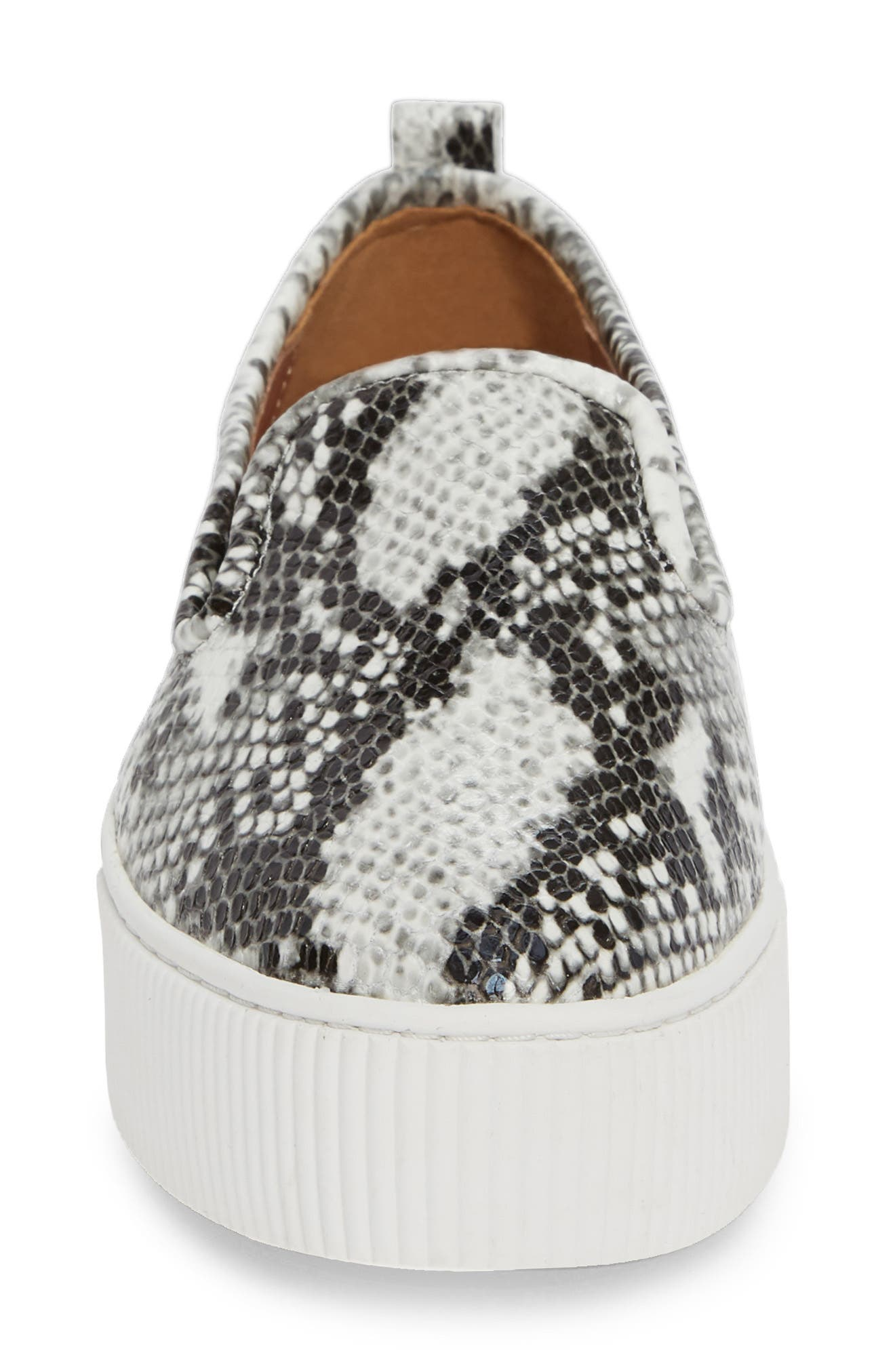 ,                             Baylee Platform Slip-On Sneaker,                             Alternate thumbnail 4, color,                             PYTHON PRINTED LEATHER