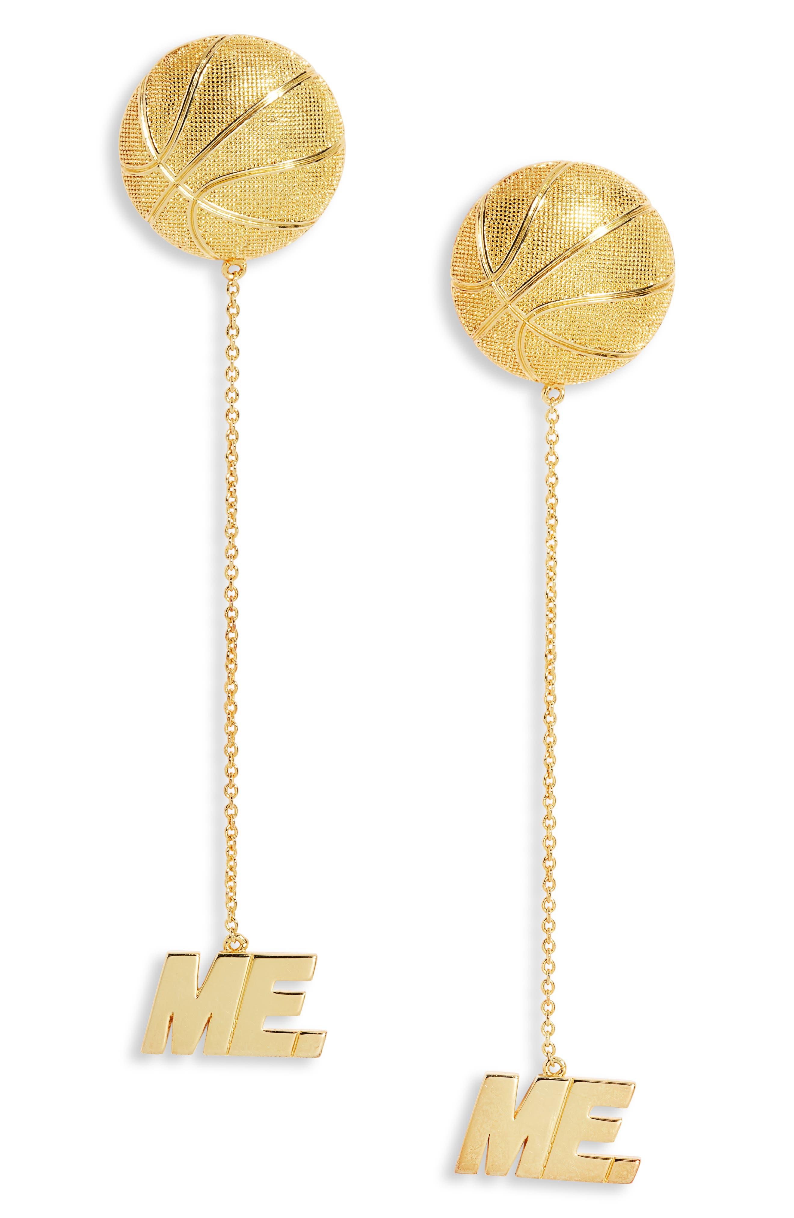 Hoop Dream Drop Earrings