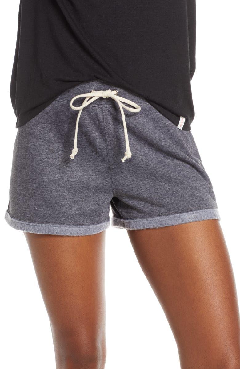 HANES LUXE Fleece Shorts, Main, color, 020