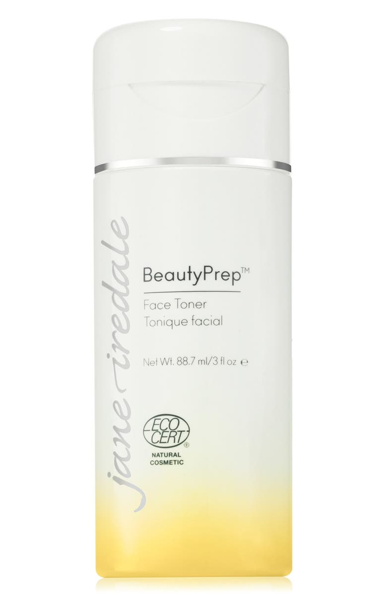 JANE IREDALE BeautyPrep Face Toner, Main, color, NO COLOR
