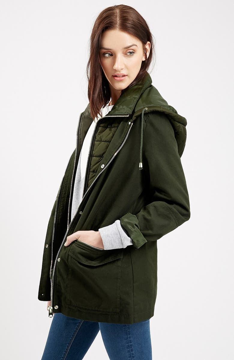 TOPSHOP 'Kiora' Jacket, Main, color, 300