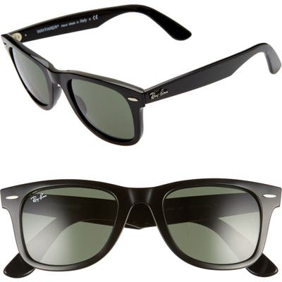 Ray-Ban 61mm Square Sunglasses - Striped Grey/ Solid Grey
