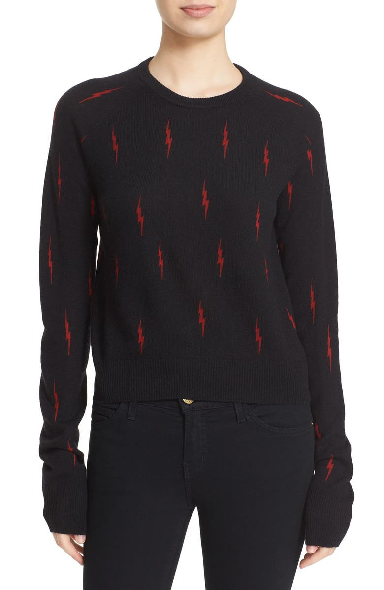 13960186286 Kate Moss for Equipment 'Ryder' Crewneck Cashmere Sweater