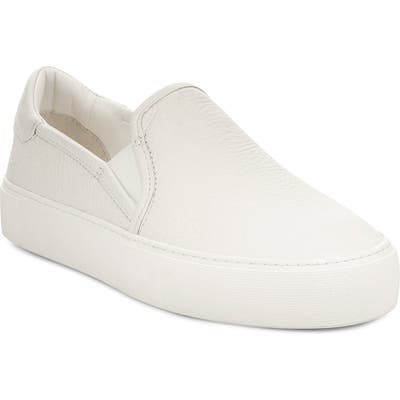 Ugg Jass Slip-On Sneaker, White