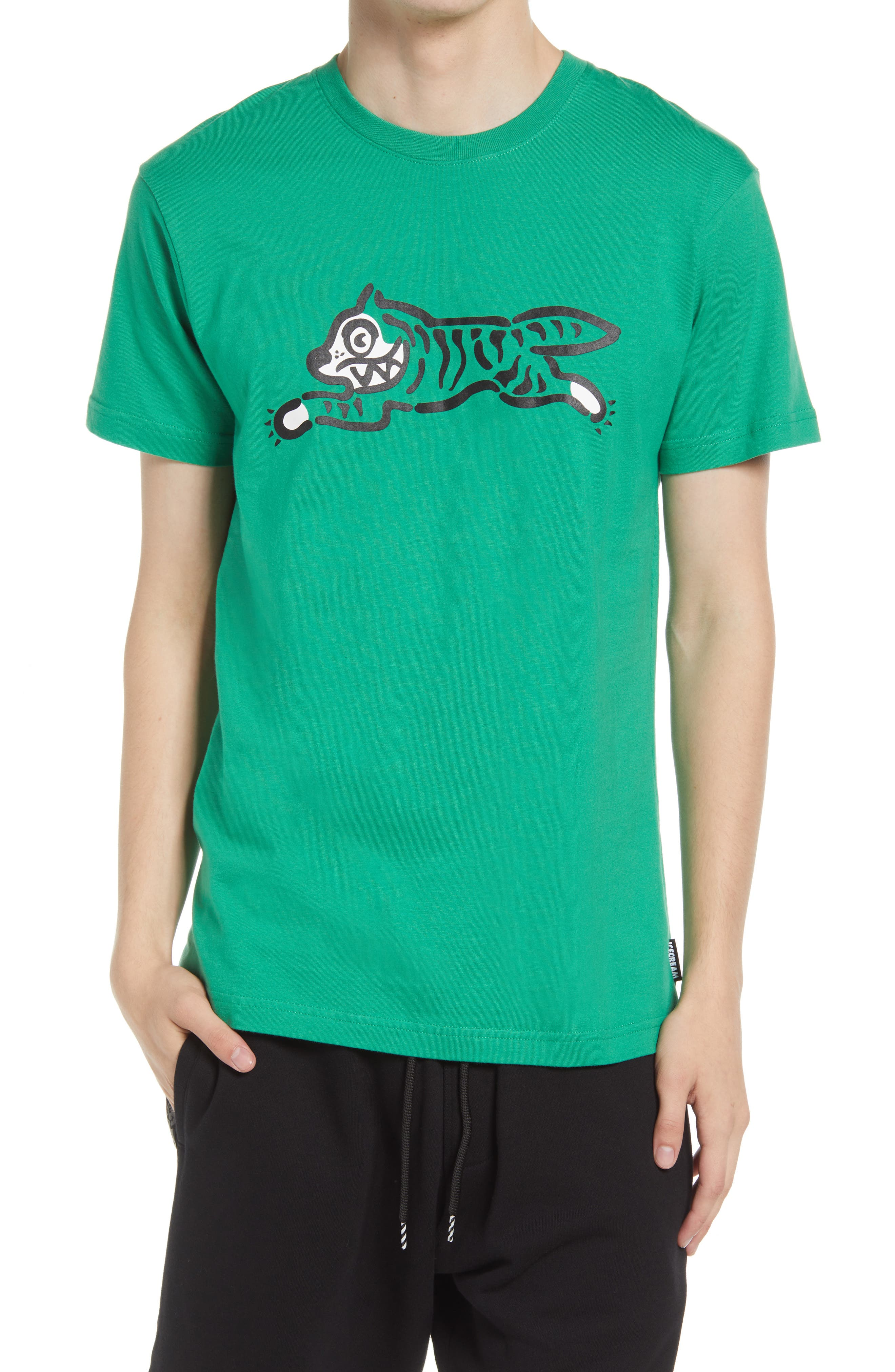 Tiger Cotton Graphic Tee