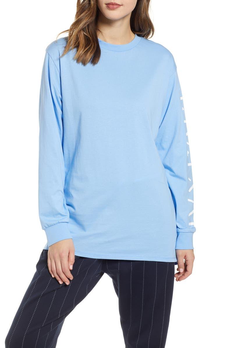 IVY PARK<SUP>®</SUP> Shadow Logo Long Sleeve Tee, Main, color, 400