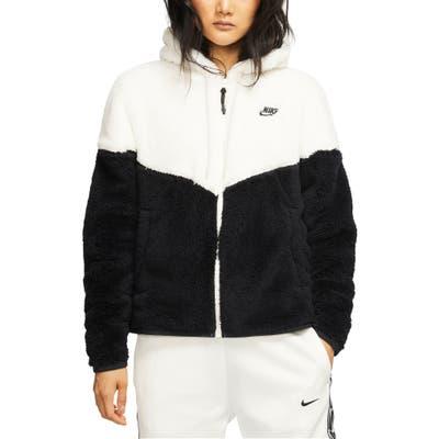 Nike Windrunner High Pile Fleece Jacket, White