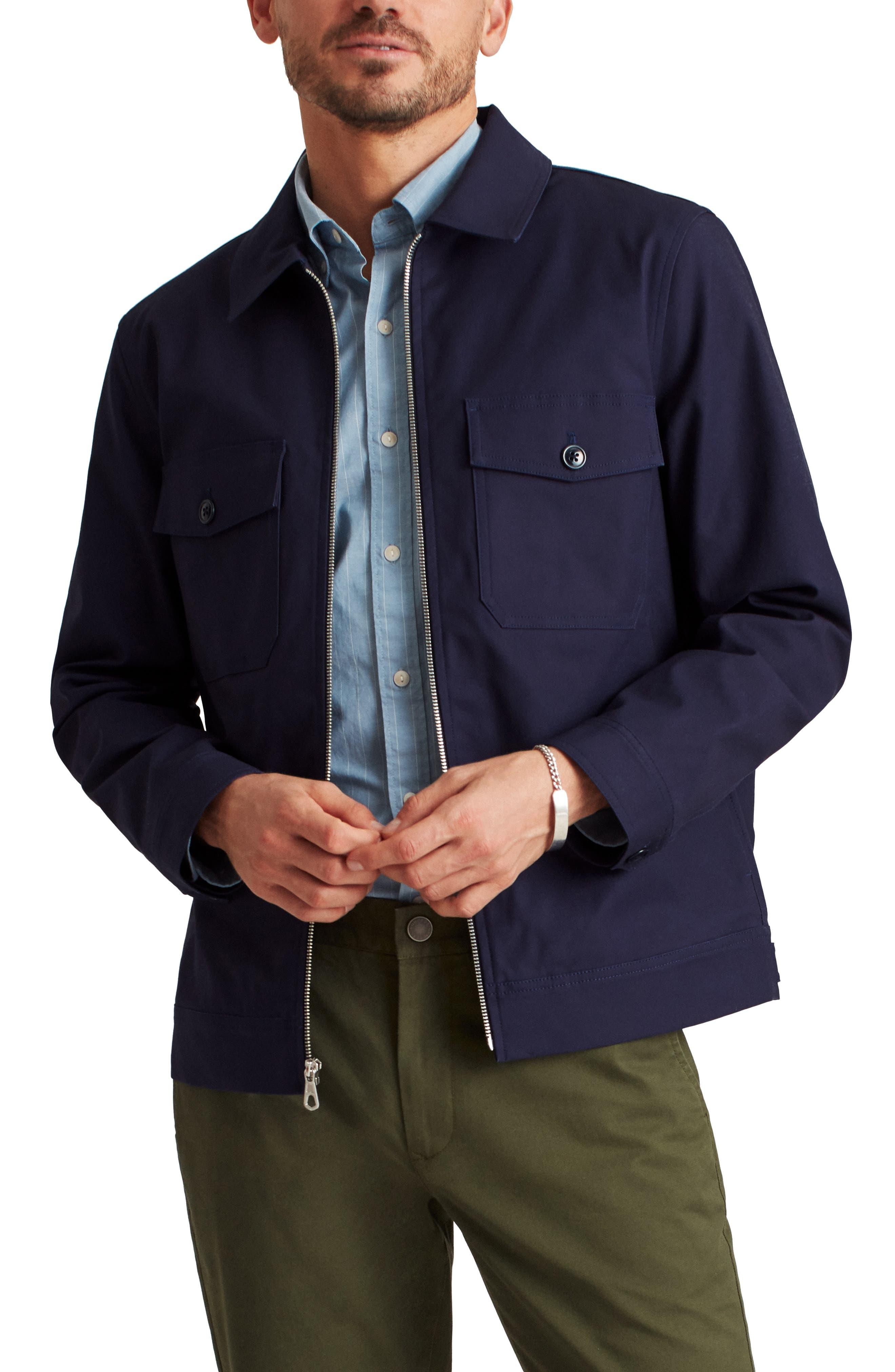 Men's Utility Stretch Cotton Jacket