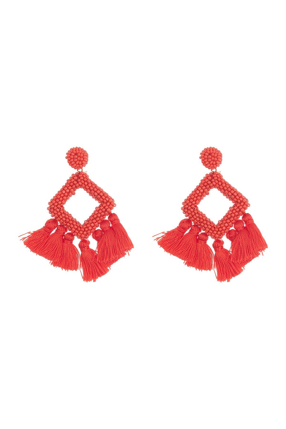 Image of BAUBLEBAR Mini Laniyah Fringe Drop Earrings