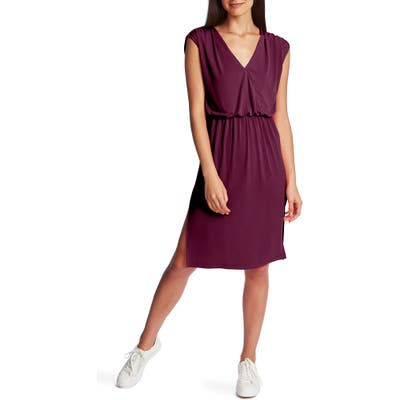 1.state V-Neck Sheath Dress, Pink