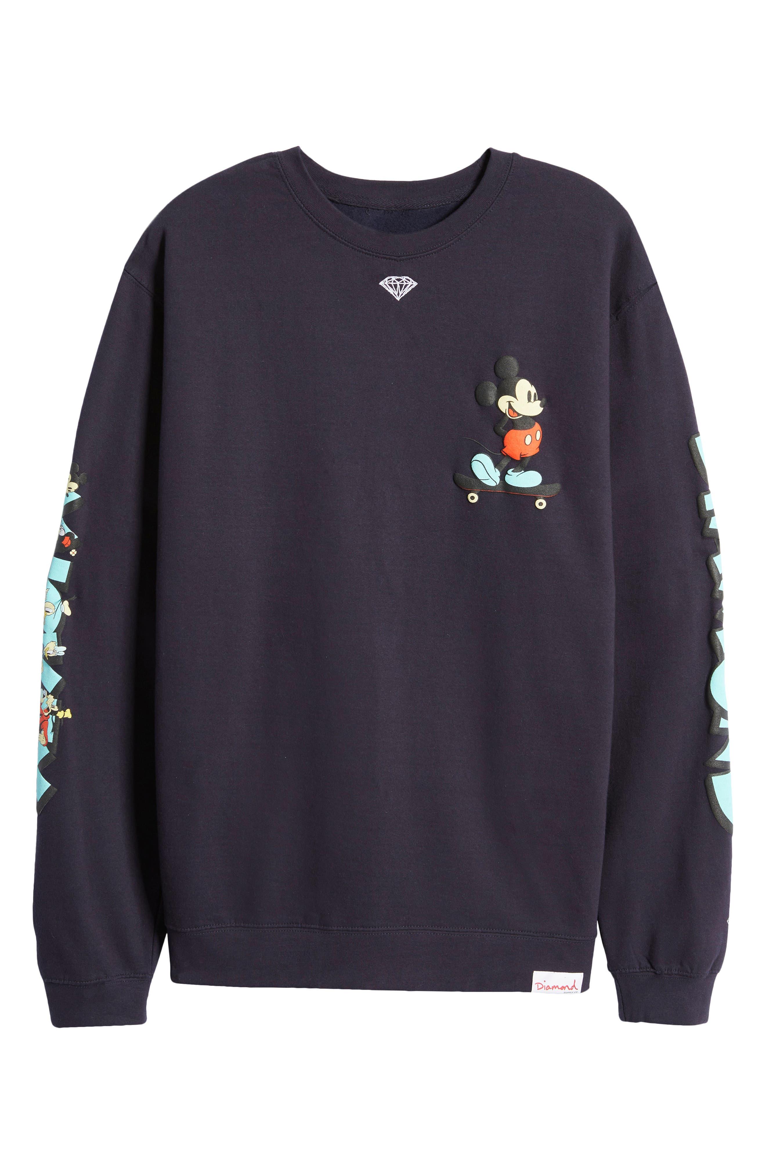 . Unisex Mickey & Friends Graphic Sweatshirt