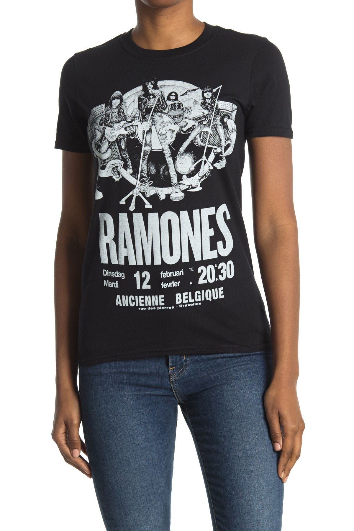 Image of MERCH TRAFFIC Ramones Concert T-Shirt