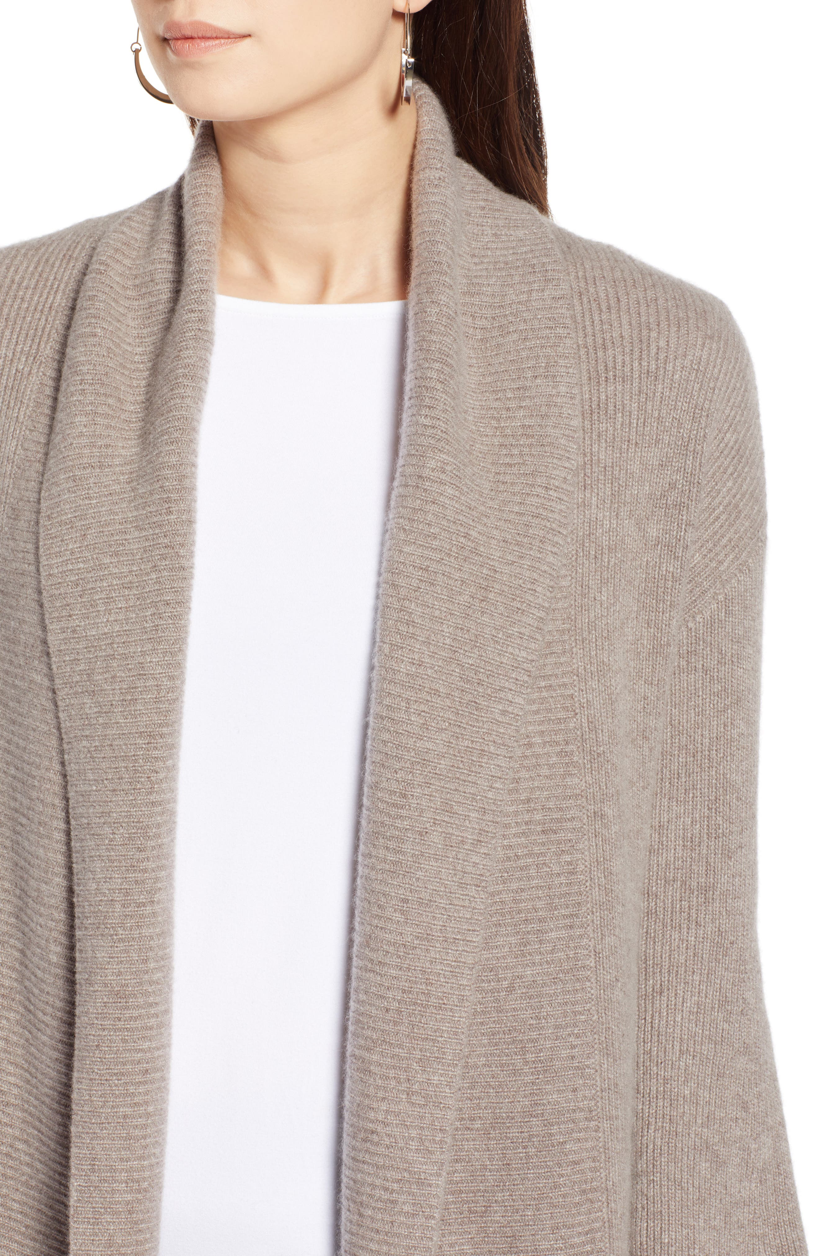 ,                             Blouson Sleeve Long Cashmere Cardigan,                             Alternate thumbnail 20, color,                             236