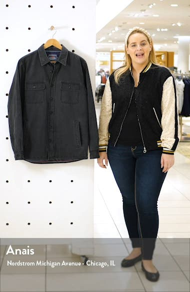 Blanket Lined Shirt Jacket, sales video thumbnail