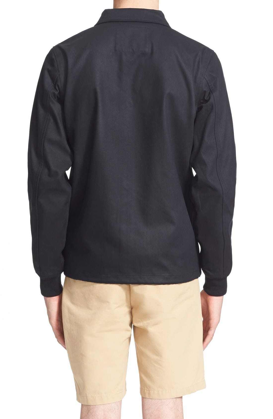 ,                             'Cooper' Bonded Cotton Poplin Jacket,                             Alternate thumbnail 3, color,                             001