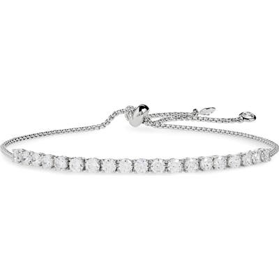 Nordstrom Cubic Zirconia Tennis Slider Bracelet