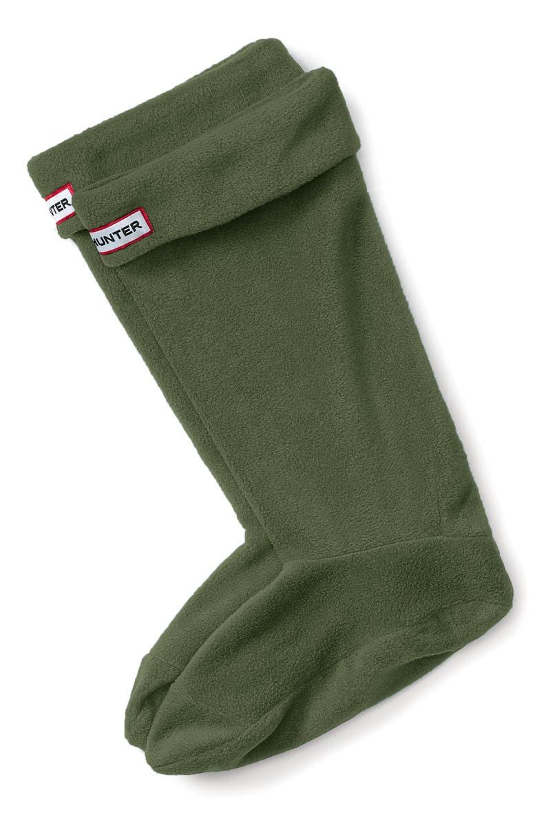 HUNTER Original Tall Fleece Welly Boot Socks, Main, color, 300