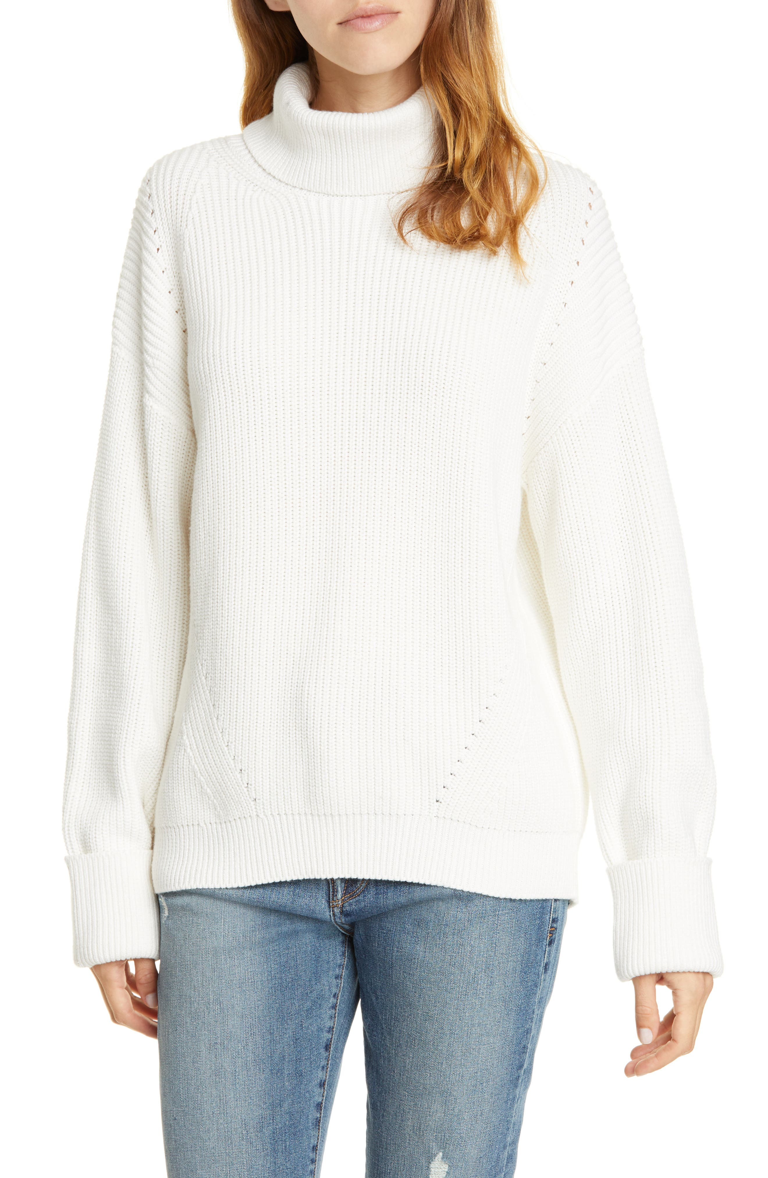 Joie Flats Aleck Turtleneck Sweater